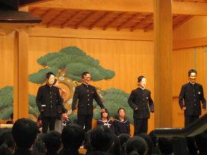 平成29年度福井市中学校能楽教室
