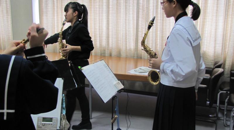 中学生吹奏楽クリニック&コンサート秋