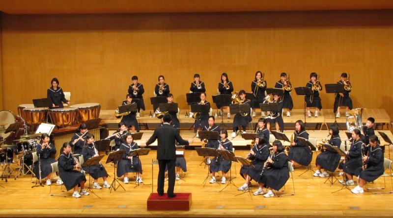 福井市中学校吹奏楽クリニック&コンサート2016春