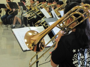 福井市中学校吹奏楽コンサートCrescendo!